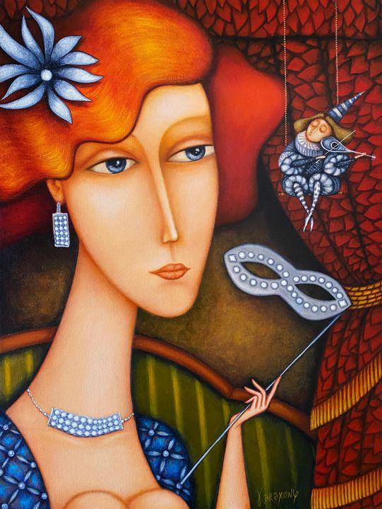 The Small Violinist - Karaxony Art