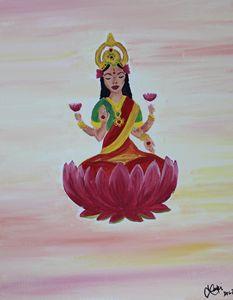 Goddess Meditating