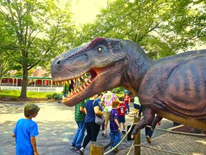 Amusement Park Dinosaur