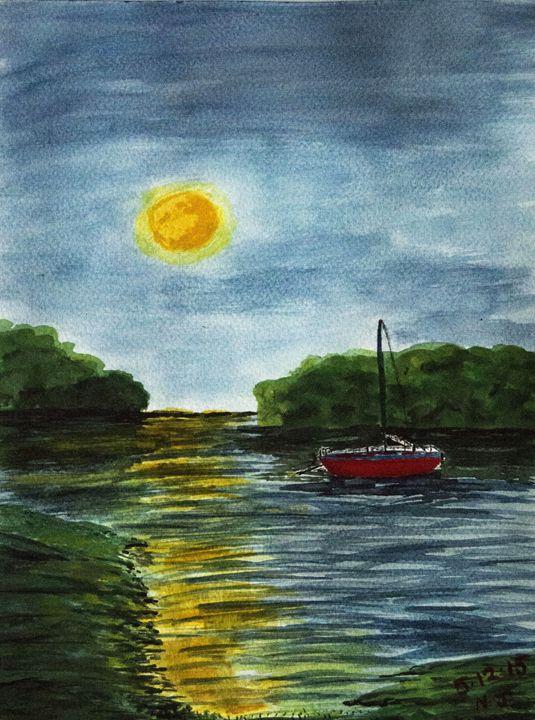 Sunset Harbor - Jannetta Thornhill
