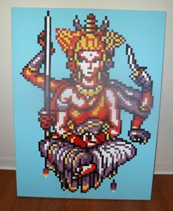 16-bit Final Fantasy Asura Acrylic