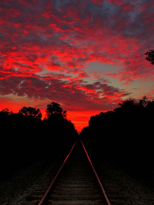 Hot tracks - Scott Bennett/Photoscapes Landscapes Ohio