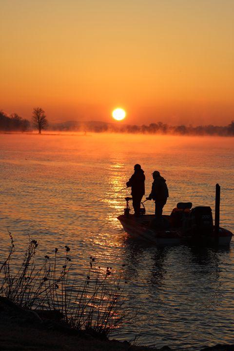 Sunrise03fishing - Scott Bennett/Photoscapes Landscapes Ohio