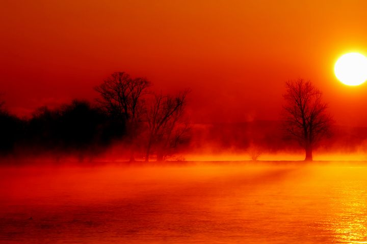 Sunrise fishing02 - Scott Bennett/Photoscapes Landscapes Ohio
