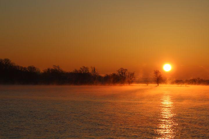 Sunrise fishing01 - Scott Bennett/Photoscapes Landscapes Ohio