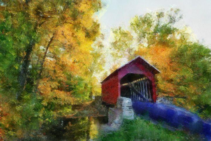 Coverd bridge - Scott Bennett/Photoscapes Landscapes Ohio