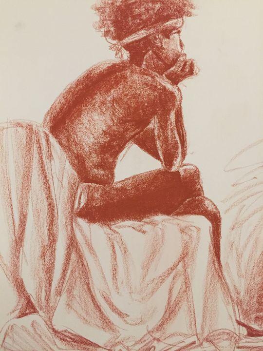 Seated Figure - Spencer Mungiguerra