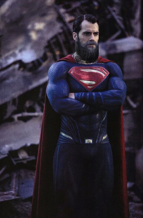 The bearded Man Of Steel - A Rokk Production