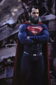 The bearded Man Of Steel