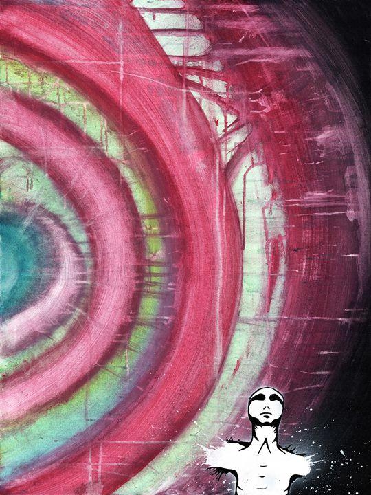 Enlightenment - Mixed Media Abstract - Ryley Bryanton