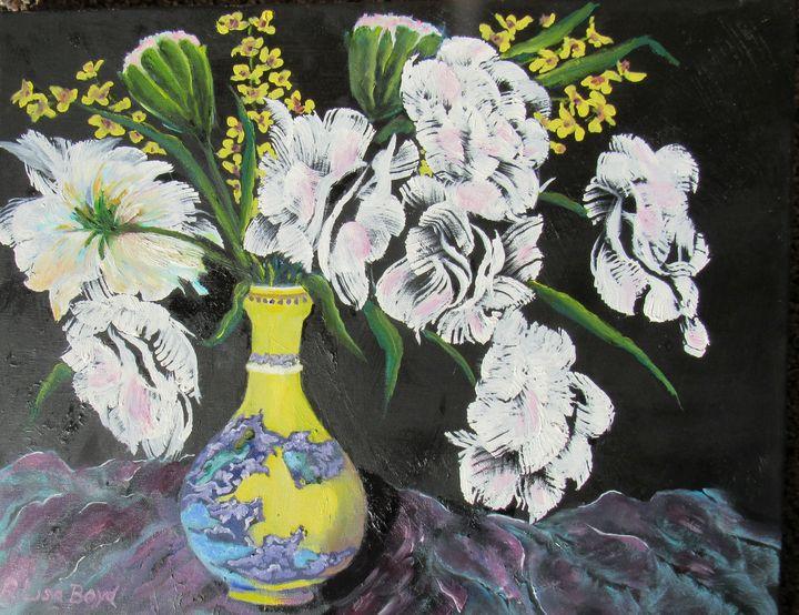 Oriental Vase - Lisa Boyd