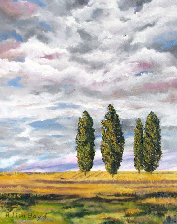 Tuscan Sunset - Lisa Boyd