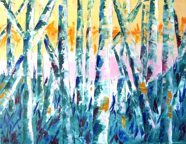Spring in the Woods - Lisa Boyd