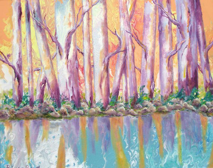 Autumn Birches - Lisa Boyd