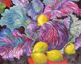 Cabbage, fruit, vegetables