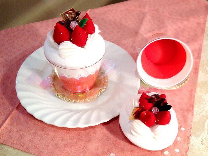 Strawberry cake - Maple-T