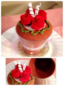 Rose brownie