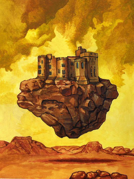 The flying castle - Jean-Luc Bernard