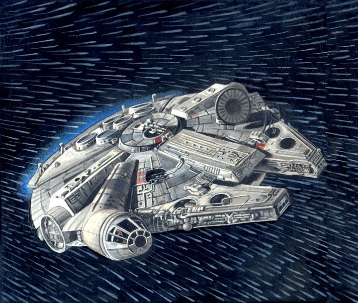 The Star Wars Millenium Falcon - Jean-Luc Bernard