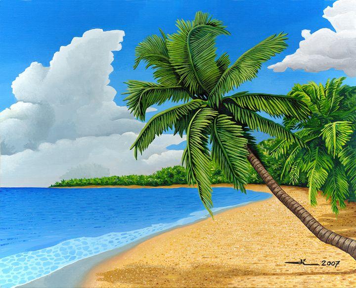 Beach caraîbes - Jean-Luc Bernard