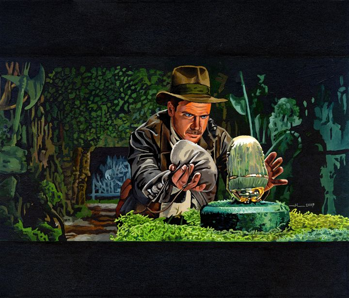 Harrison Ford is Indiana Jones - Jean-Luc Bernard