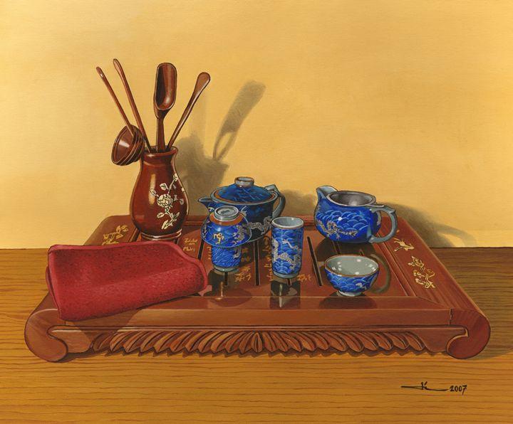 Cha Dao, the art of tea - Jean-Luc Bernard