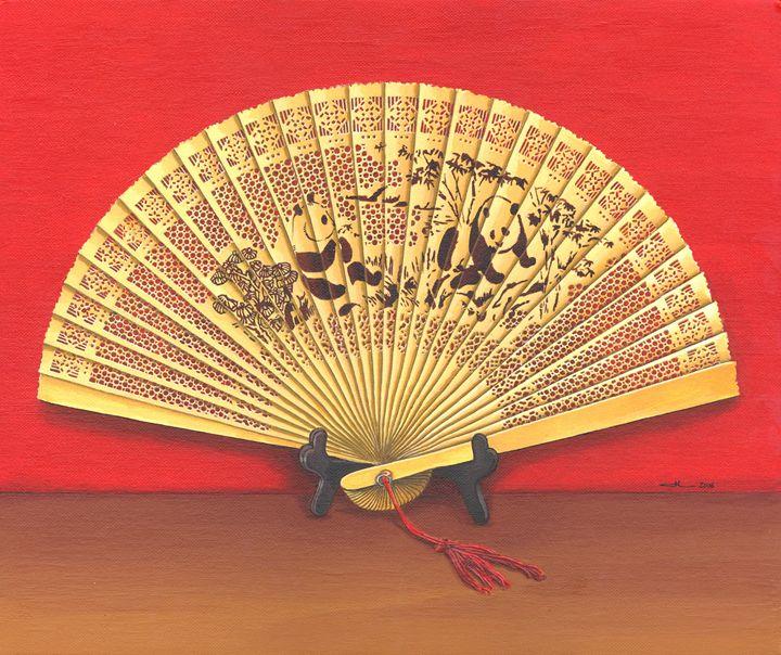 The Chinese fan - Jean-Luc Bernard