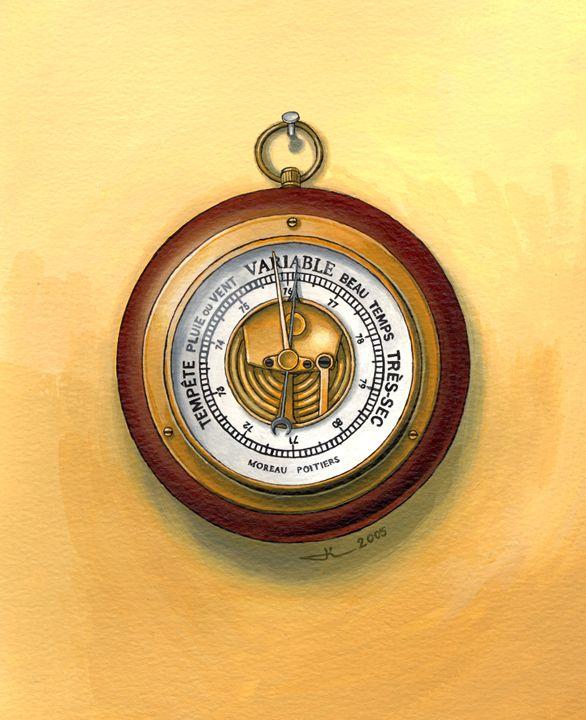 The barometer - Jean-Luc Bernard