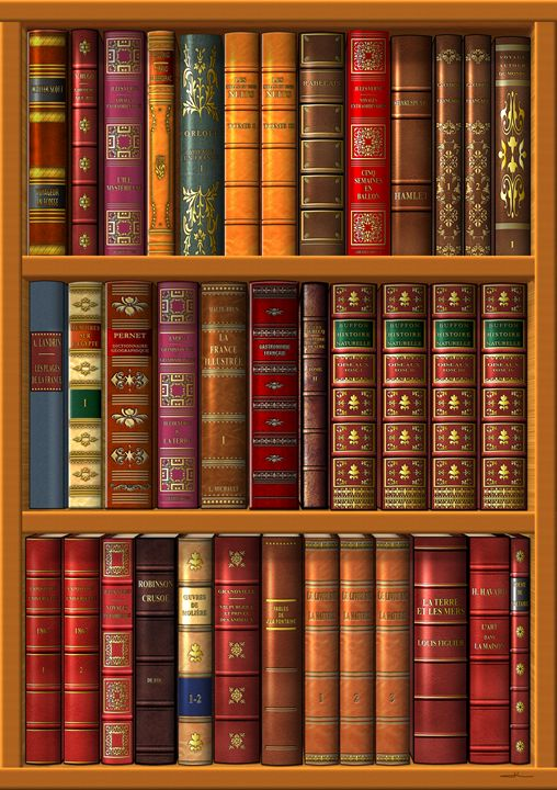 The library of classic books - Jean-Luc Bernard