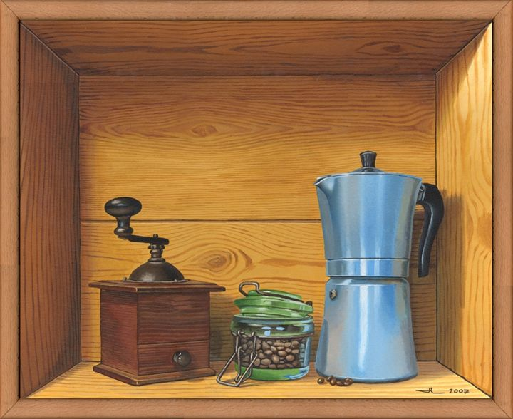 The Italian coffee maker - Jean-Luc Bernard