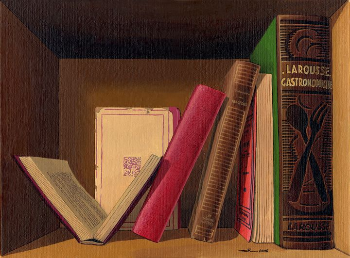 Old books - Jean-Luc Bernard