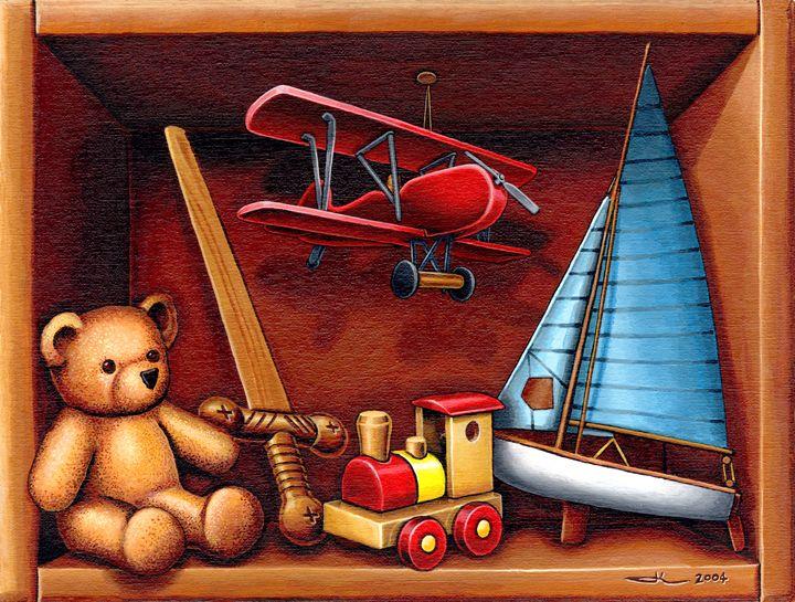 The toy box - Jean-Luc Bernard