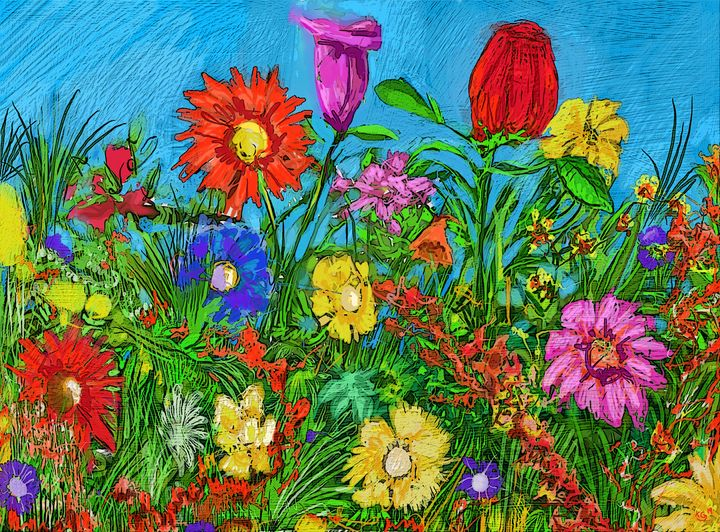 flowerpatch - paint kg
