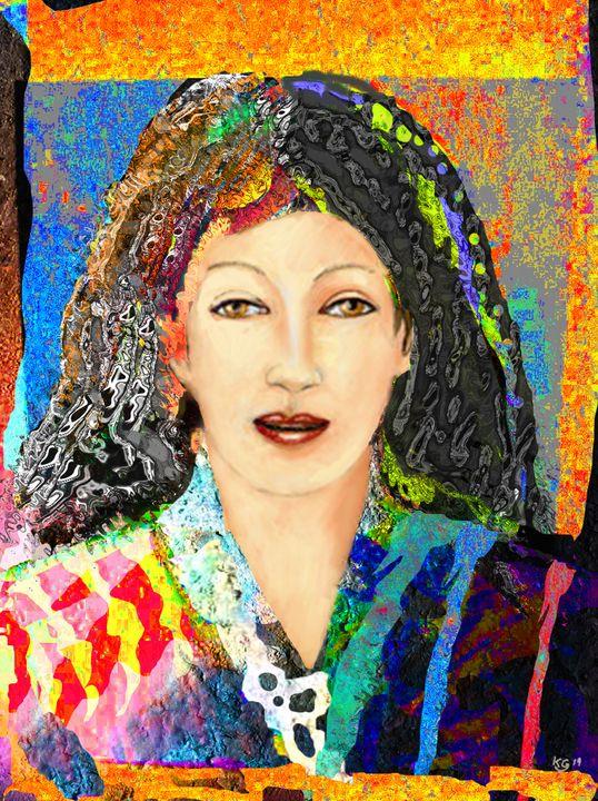 lady xing - paint kg