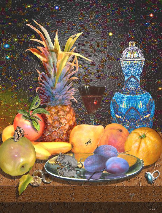 mouse&fruit - paint kg