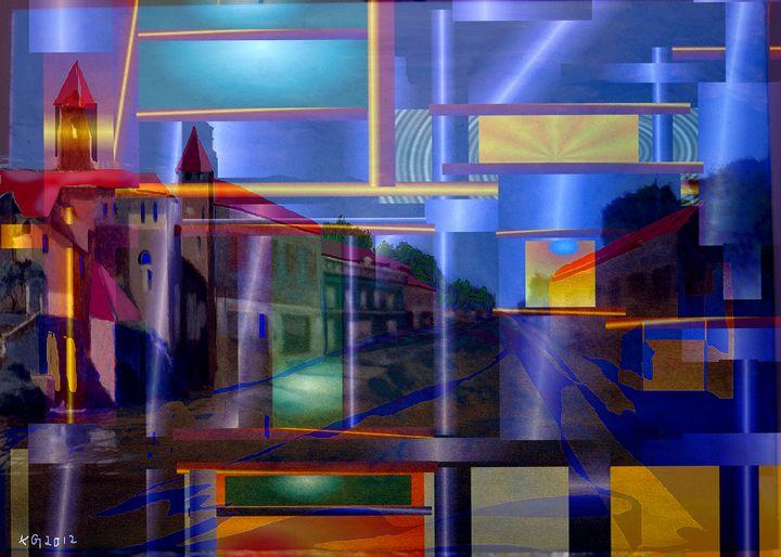 pattern street - paint kg