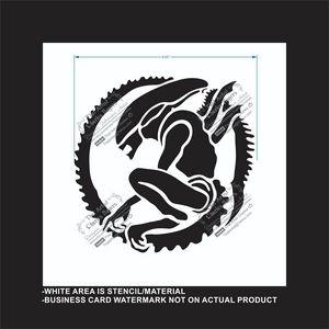 Alien - Reusable Stencil