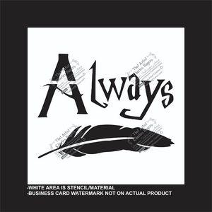 Always - Reusable Stencil