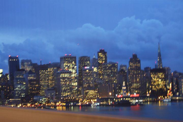 San Francisco Skyline @ Night - JT Simmonds