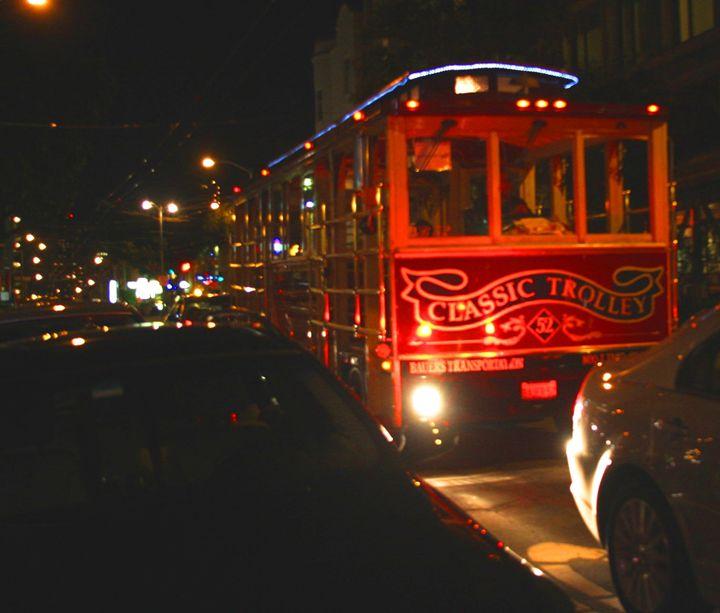 San Francisco Street Trolley - JT Simmonds