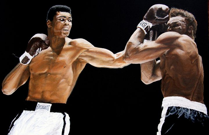 Muhammad Ali vs Cleveland Williams - JT Simmonds