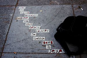 Sidewalk Poetry San Francisco