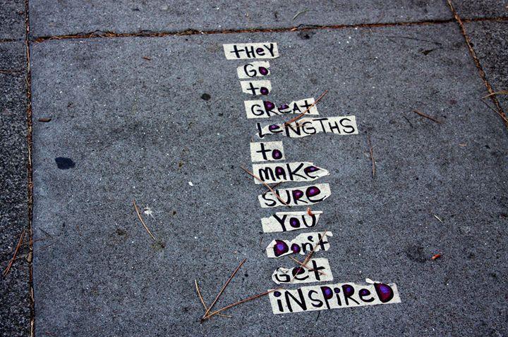 Sidewalk Poetry San Francisco - JT Simmonds