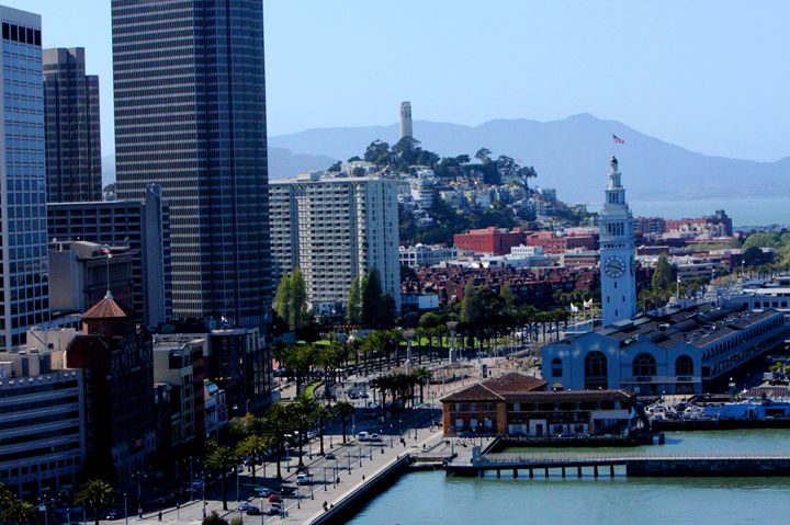 San Francisco Ferry Building & Coit - JT Simmonds
