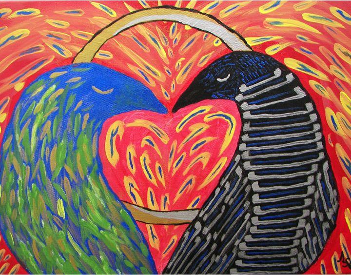 Love Birds - Andrew S. Elliott