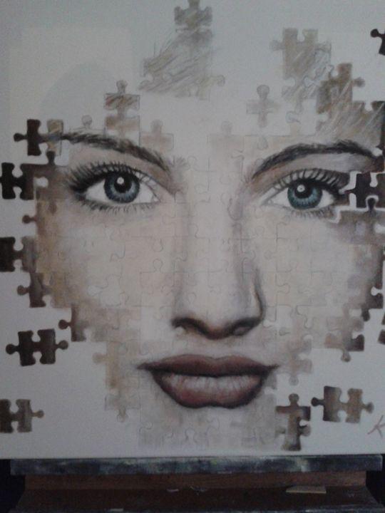Puzzled - Vintage paintings by Kaytee