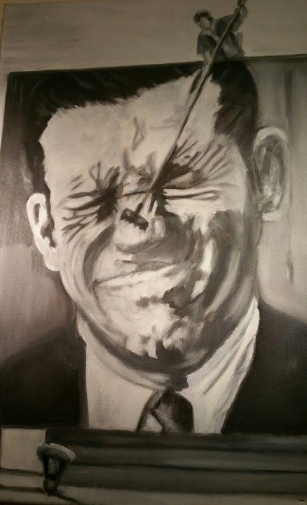 Mr. tickle - Vintage paintings by Kaytee
