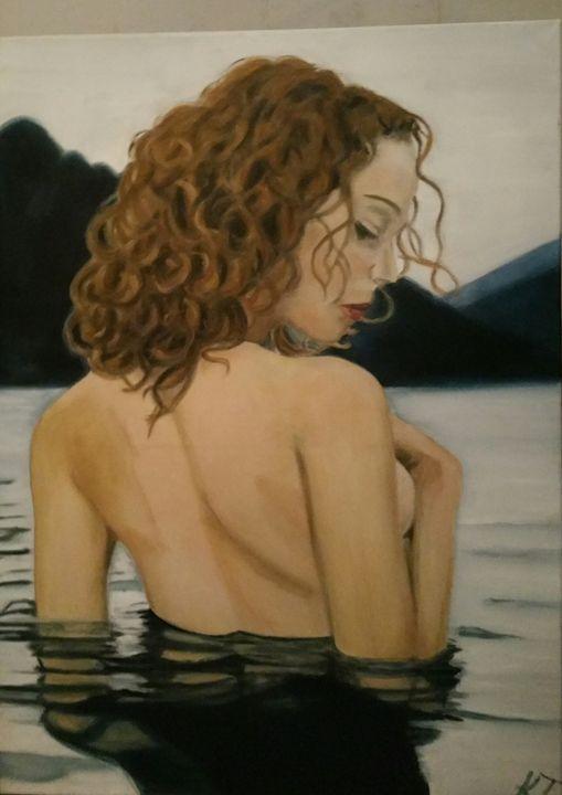 Lady Lake - Vintage paintings by Kaytee