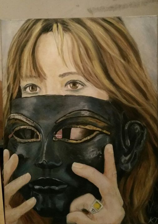 Masquerade - Vintage paintings by Kaytee
