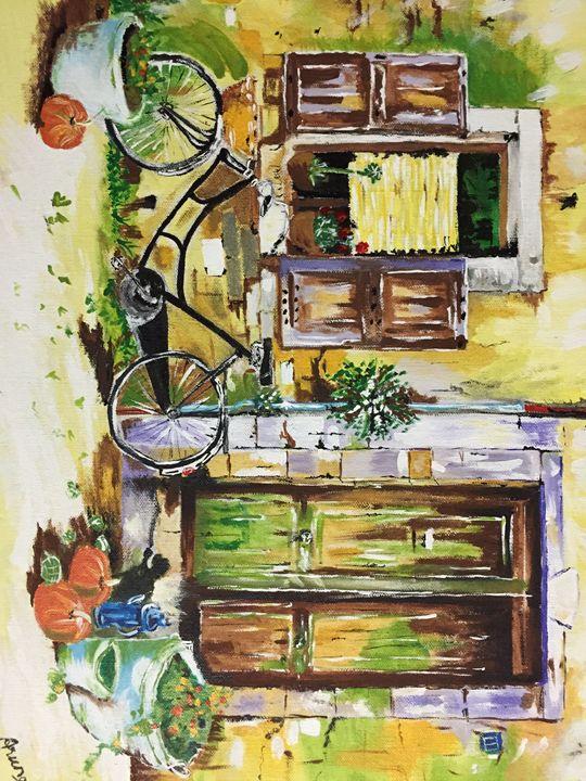 Outdoor Painting - Aruna Art
